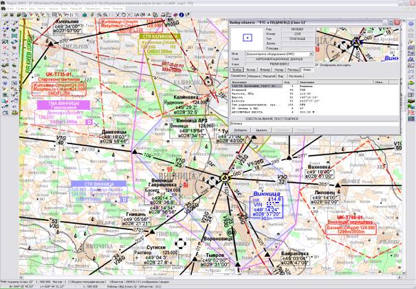 карт нижнего воздушного